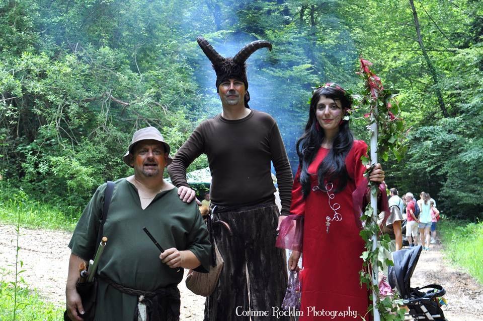 Les Mattagumber à la Fête des Légendes de Liebsdorf - di 10 juin