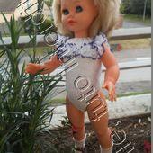 tuto gratuit poupée: body à dentelle - Chez Laramicelle