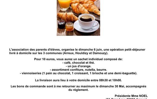 """Opération """"Petit-déjeuner"""""""