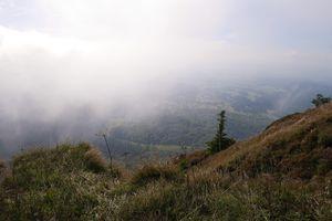Brumes sur le Puy de Dôme