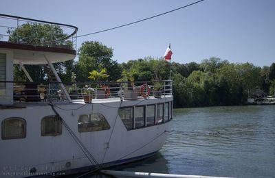 """Il est toujours là.. le yacht """"Amazone"""""""