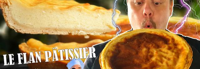 Je teste le flan pâtissier de Chef Verrecchia !