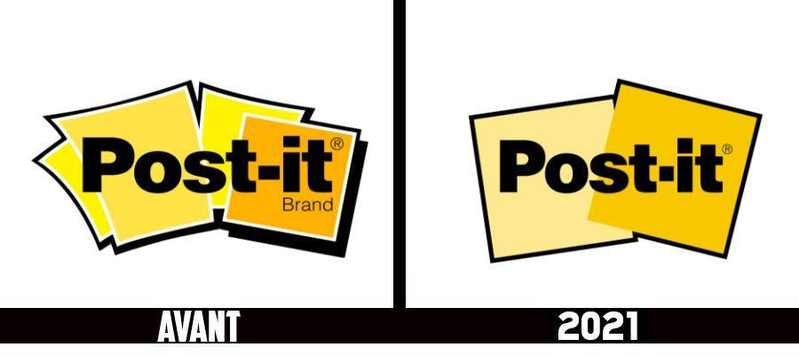 Branding : Changement de logo discret pour la célèbre marque Post-It