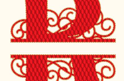 ABC ferronnerie d' art: la lettre R