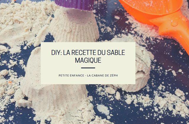 DIY: La recette du sable magique
