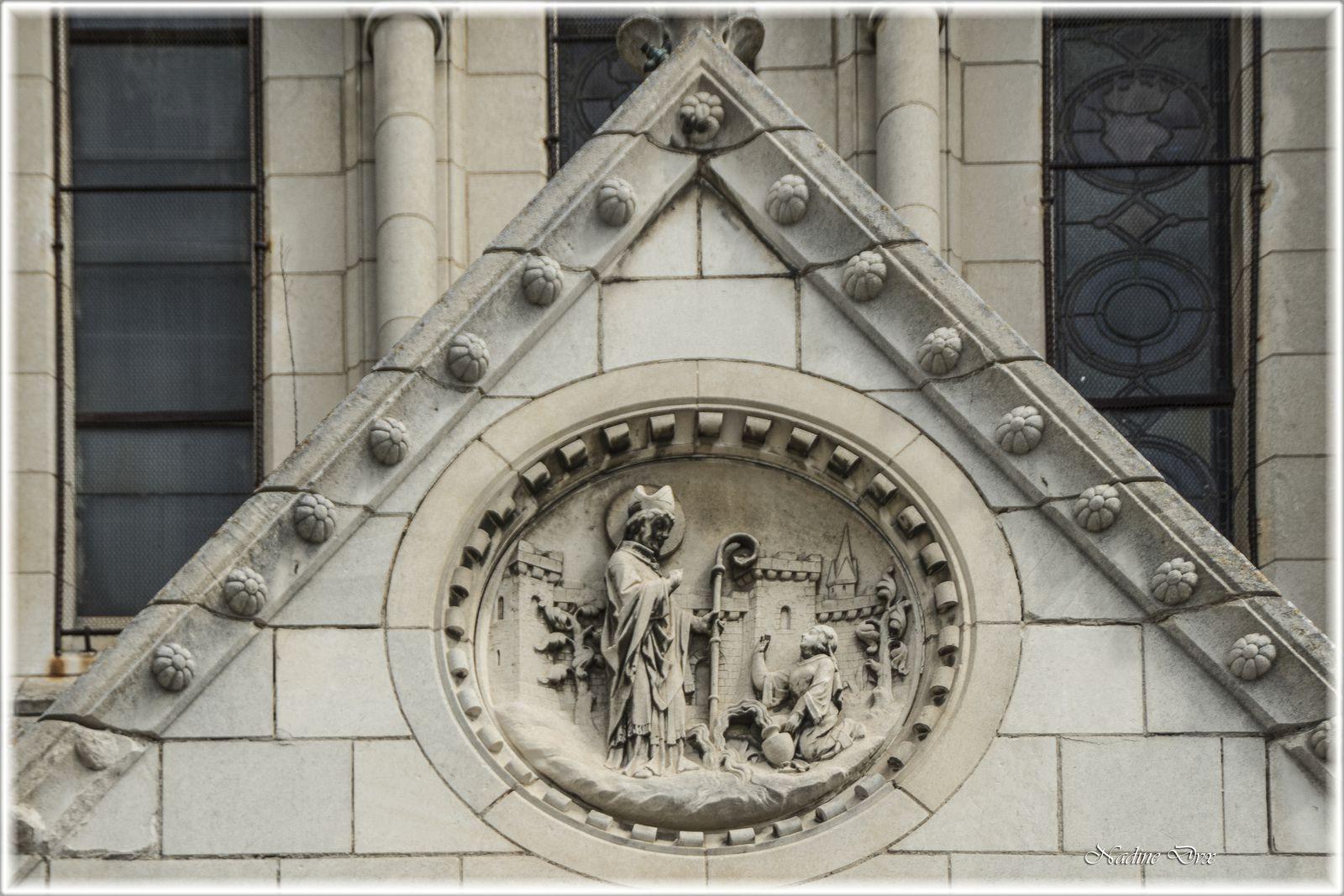 Extérieur de l'église Notre-Dame-du-Pré - Le Mans