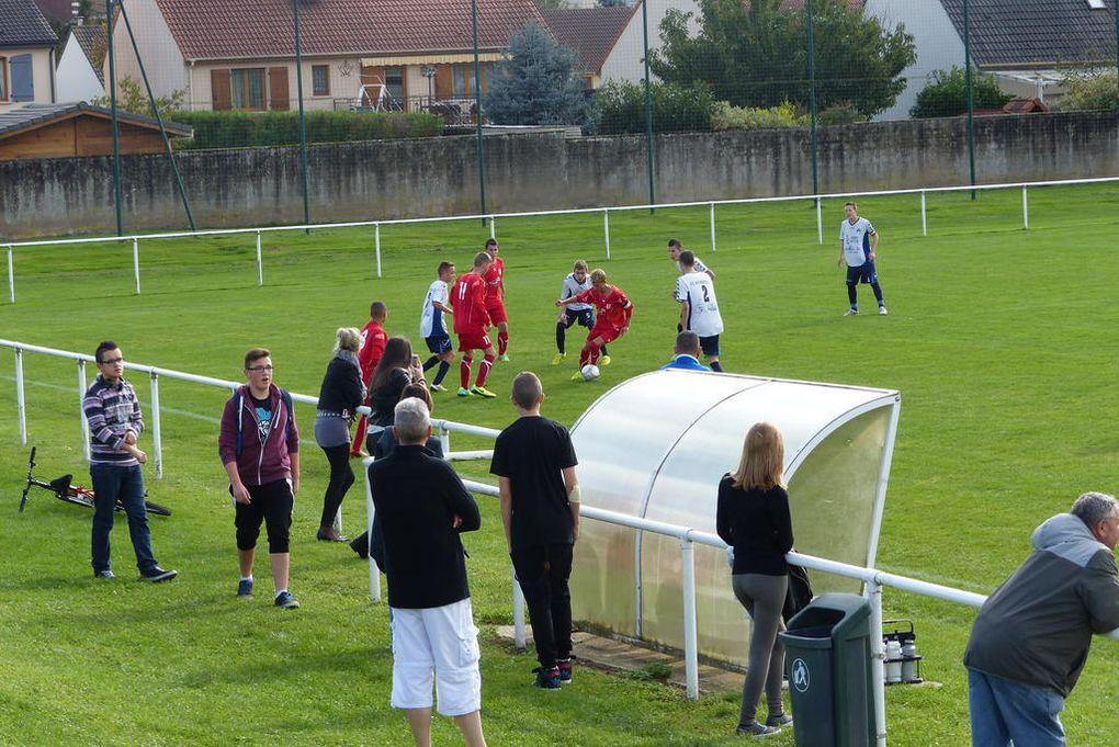 Championnat - 4ème journée - Dombasle 2-4 Ludres - à Dombasle