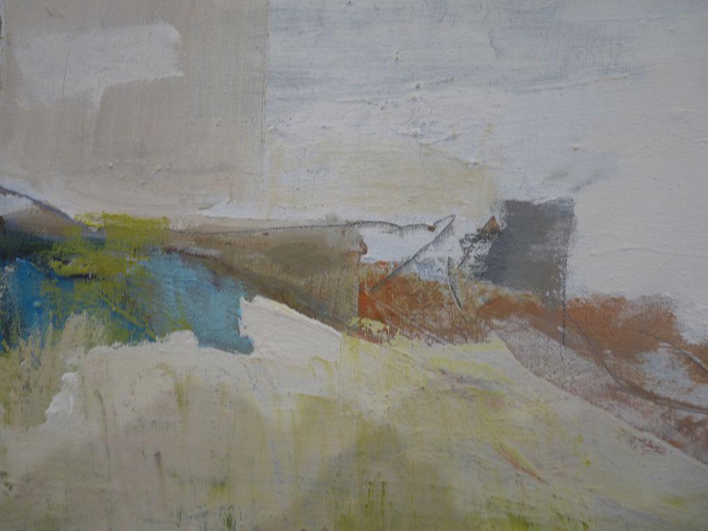 Les dernières toiles d'Isabelle Valode à la Galerie 66 à Périgueux