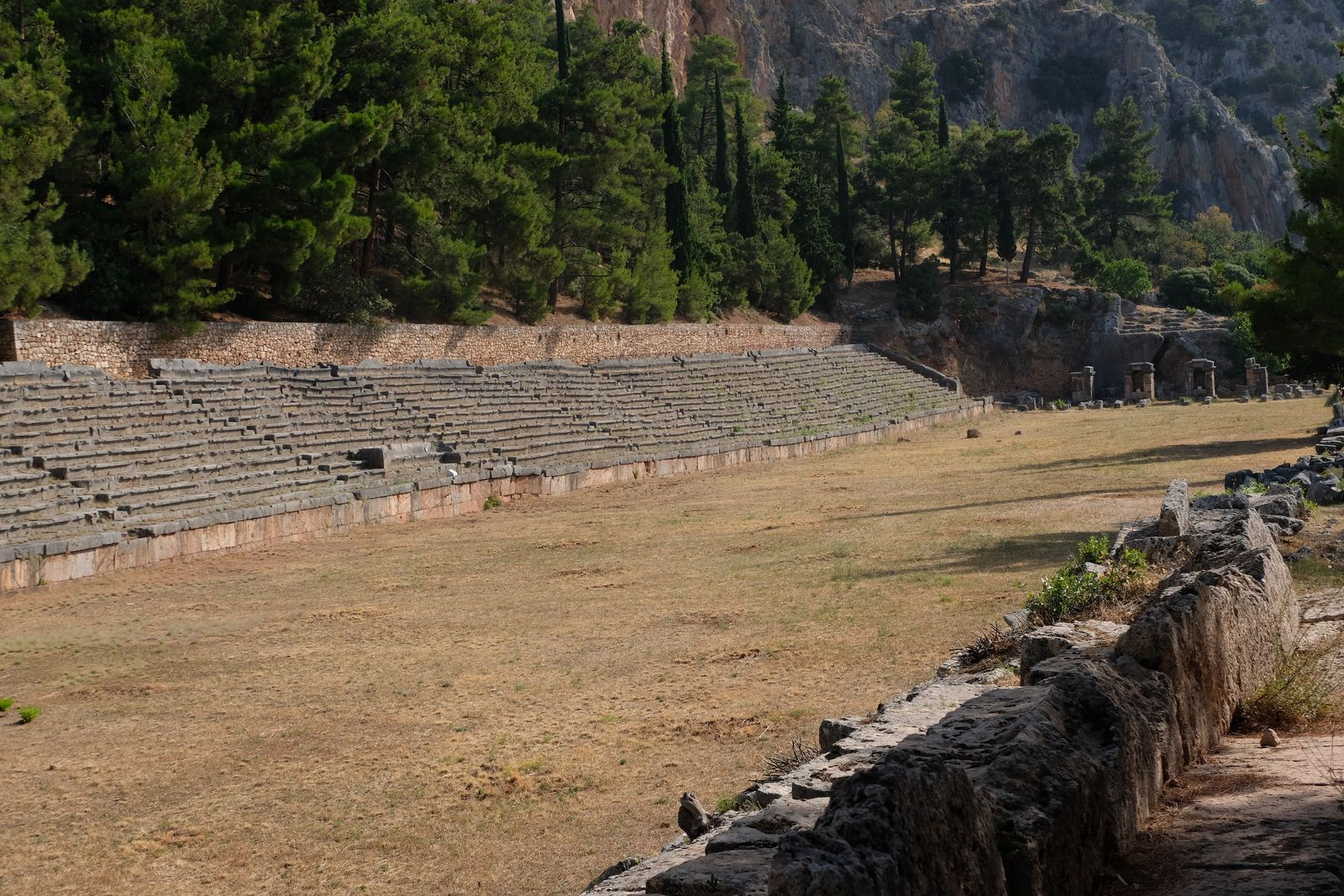 Trois semaines en Grèce - 5 : d'Olympie au mont Pélion