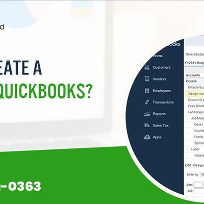 How to create a Budget in QuickBooks?