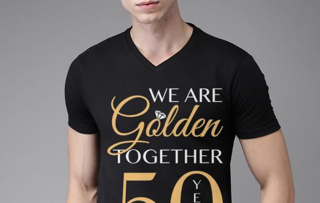Official We are golden togerther 50 years Shirt