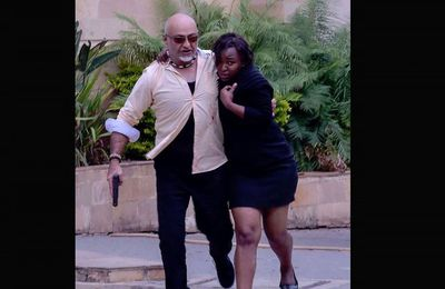 Un patron d'une société de sécurité privée en Héros au Kenya (Primo-intervenant sur deux attaques)