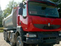 Camion Benne Enroche8x4 450 DXI