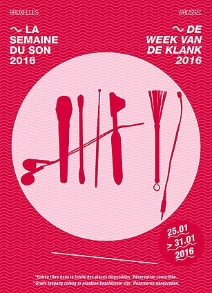 Concerts-rencontres de la FeBeME à Bruxelles (B) dans le cadre de «La Semaine Du Son 2016» …