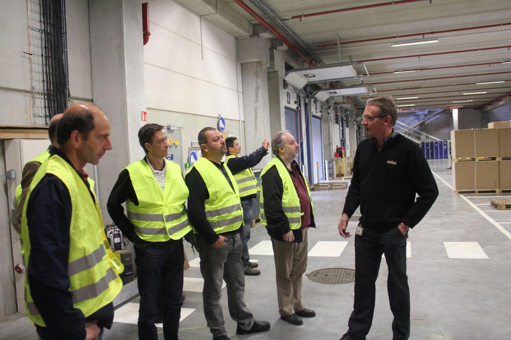 Le groupe de travail et de négociation CFE-CGC NORAUTO s'est réuni fin juin 2013. Une visite complète du nouvel entrepôt de Norauto a, par ailleurs, été organisée.