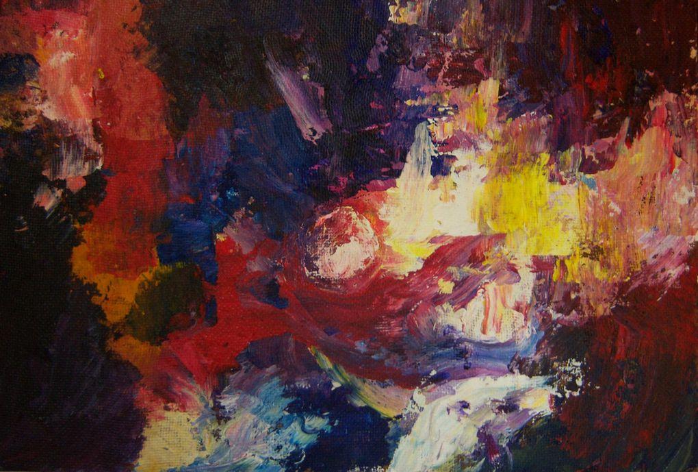 Album - acrylique-abstrait