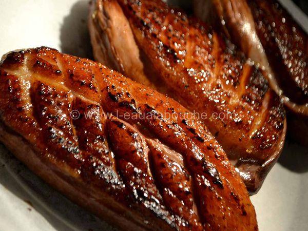 Magret de Canard Courgettes & Pommes de Terre À la Plancha