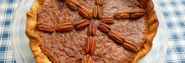 TARTE AUX NOIX DE PECAN (the original High plains pecan pie)