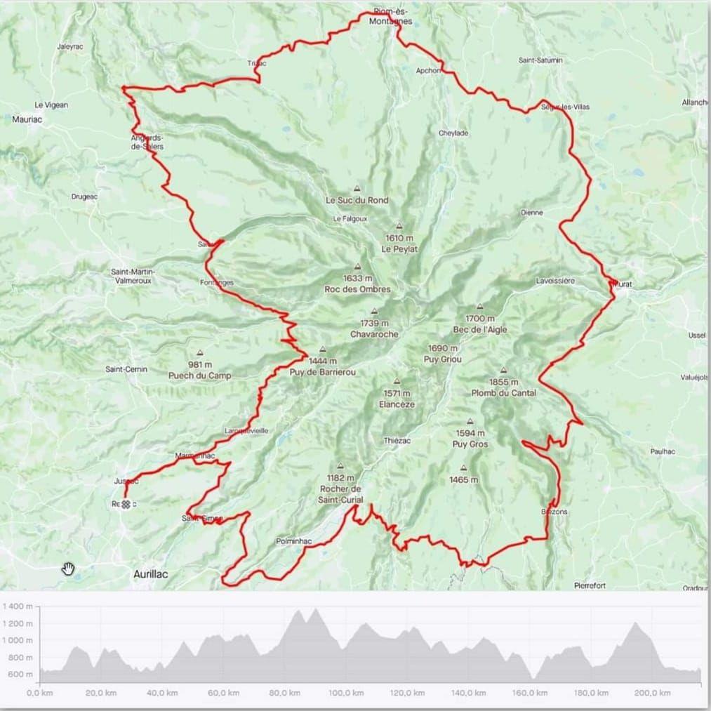 Bientôt le Tour du plus grand volcan d'Europe
