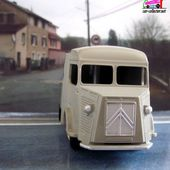 "FOURGON CITROEN TYPE H ""SNCF"" DINKY TOYS REEDITION ATLAS 1/43 - car-collector.net"