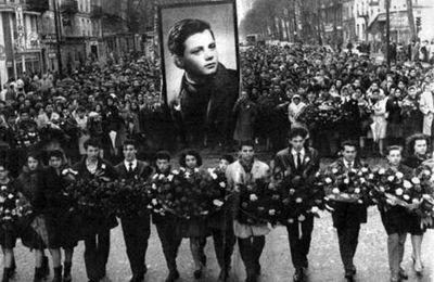 8 février 1962 : Métro Charonne ! Nous n'oublions pas. L'ARAC Drancy rend hommage à Daniel Féry