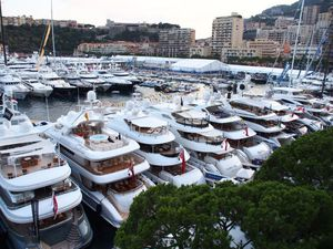 photo aérienne de Port Hercule à Monaco - photo : SEPM