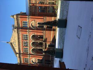 Londres sous la neige ...