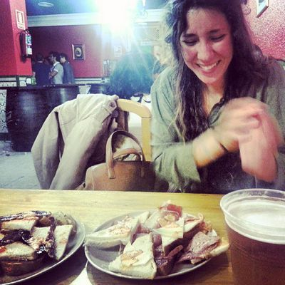 #Madrid rocks, doesn't it?! #tapas #FuckOffGlassOfBeer
