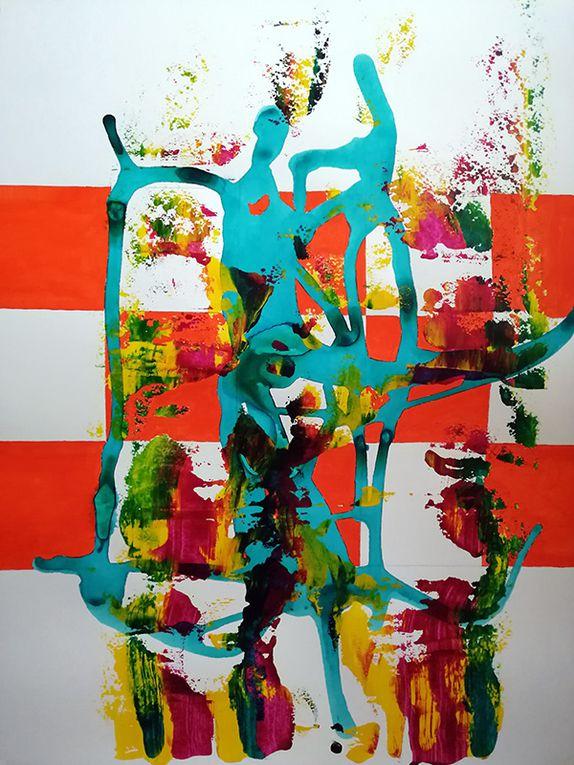 Chon Muñoz González - à partir du point 20 de la peinture en neuf mois
