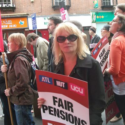 STRIKE FOR PENSIONS!