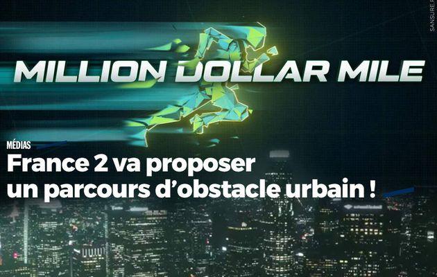 France 2 va proposer un parcours d'obstacle urbain ! (vidéo) #France2