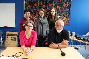 Altern'ados : Invités, le professeur Georges Picherot, pédiatre et Mme Françoise Aragot, sage-femme. Octobre 2014.