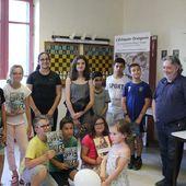 Une réception à l'Échiquier Orangeois en l'honneur des jeunes - Echiquier orangeois - ( Club d'Echecs Orange )