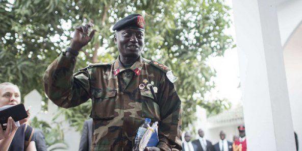 Imágenes del ex dictador represor gambiano Yahya Jammeh.- El Muni
