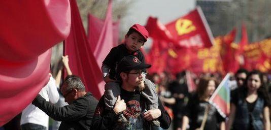 Chili : grande manifestation pour le 40e anniversaire du coup d'Etat de Pinochet (Le Monde.fr)