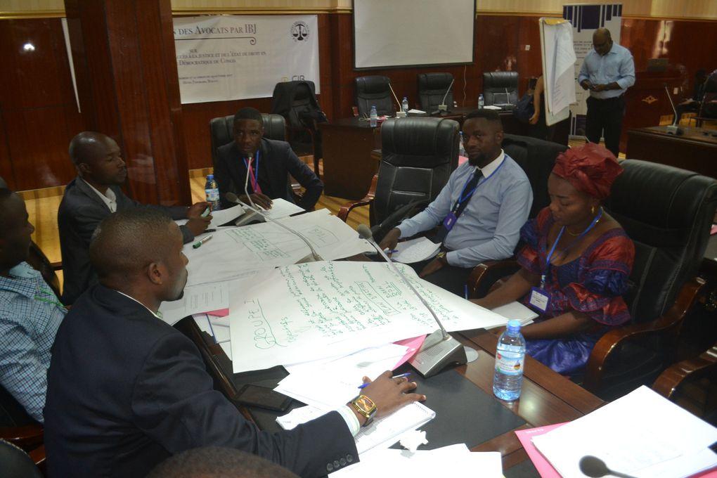 Bukavu :  Les lampions s'éteignent sur la formation des avocats et défenseurs judiciaires