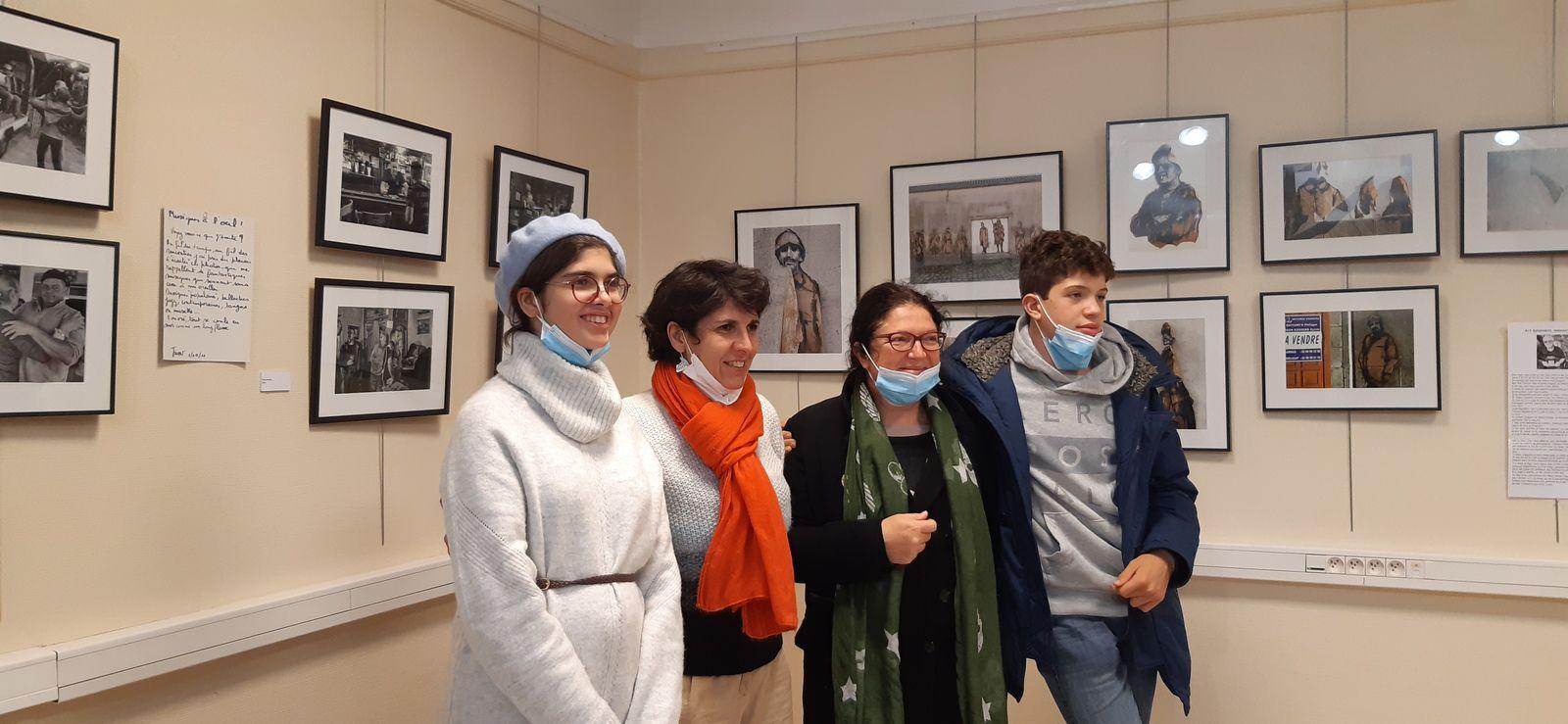 Inauguration de l'exposition retrospective du travail photographique de Jean-Marc Nayet (photos Jean-Luc Le Calvez)