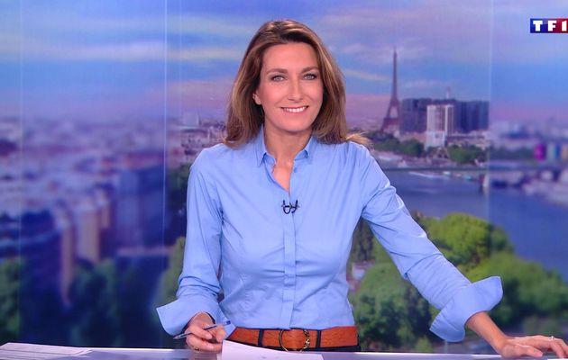 📸 ANNE-CLAIRE COUDRAY @ACCoudray @TF1 @TF1LeJT pour LE 13H WEEK-END #vuesalatele