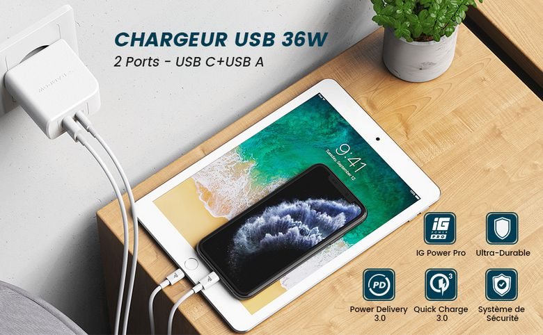 chargeur-secteur-power-delivery-36-watts-rampow-rba23