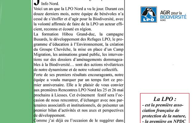 LPO info NORD N°3