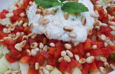 Salade de concombre crétoise