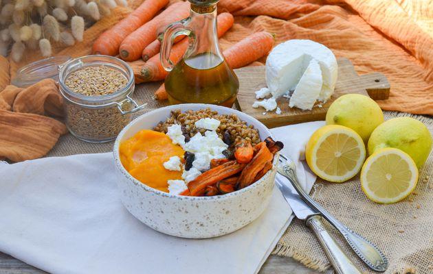 Salade de carottes à l'épeautre