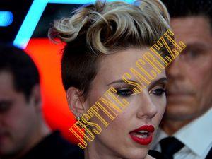 Scarlett Johansson en interview.