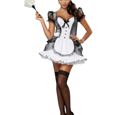 French Maid - Femme - Brune - Sexy - Render-Tube - Gratuit