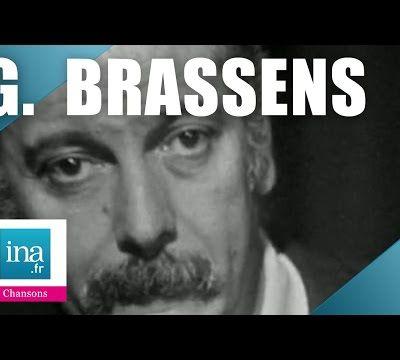 """Georges Brassens :  """" Supplique pour être enterré sur la plage de Sète """" ... Les chansons ou les musiques que j'aime … de Rotpier"""