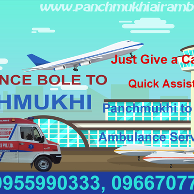 The Air Ambulance Hyderabad Low-Cost Medical Amenities by Panchmukhi