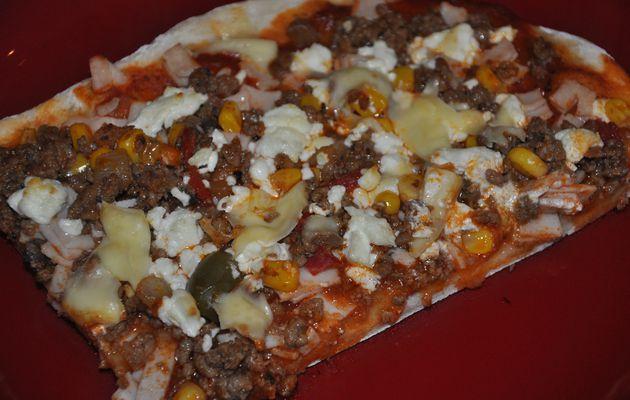 Pizza méxicaine