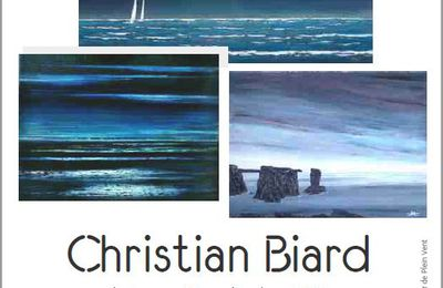 Exposition Christian BIARD septembre 2020