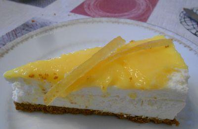 gâteau mousse de citron
