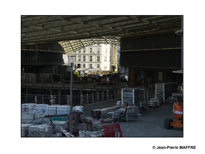 Encore une année de travaux avant la fin de cet énorme chantier. La canopée s'approche de plus en plus de sa forme définitive.
